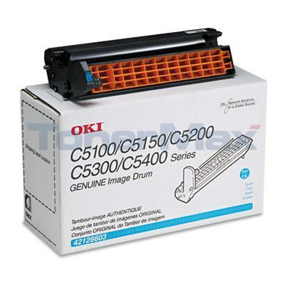 OKIDATA C5000 IMAGE DRUM CYAN